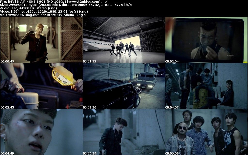 [MV] B.A.P - ONE SHOT [HD 1080p Youtube]