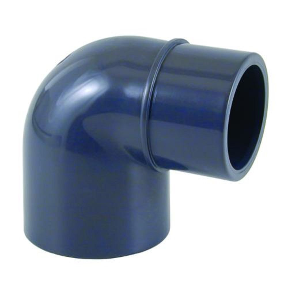 Coude 90 pvc 50 fm pression coller raccord piscine for Raccord filtration piscine