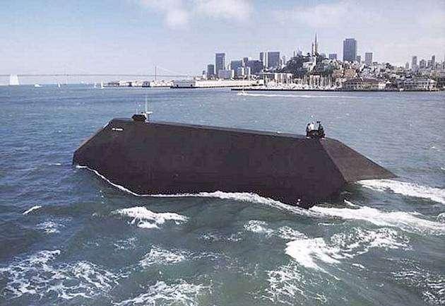 094652919 - La Marina de Estados Unidos vende el primer barco invisible por 73800 Euros
