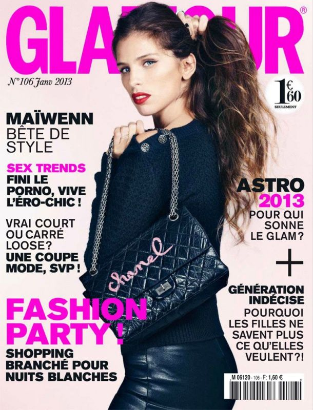 Glamour N°106 Janvier 2013