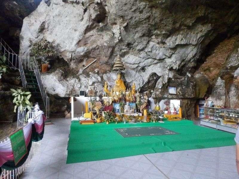 Eingangsbereich der Höhle
