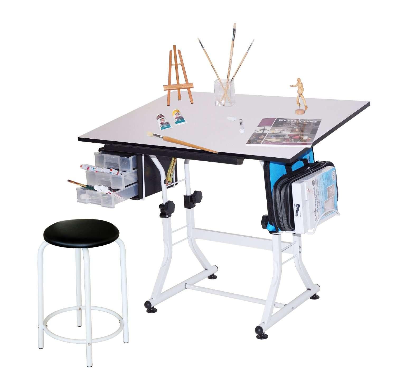 Mesa para dibujo con silla escritorio dibujar vbf for Costo de sillas para escritorio