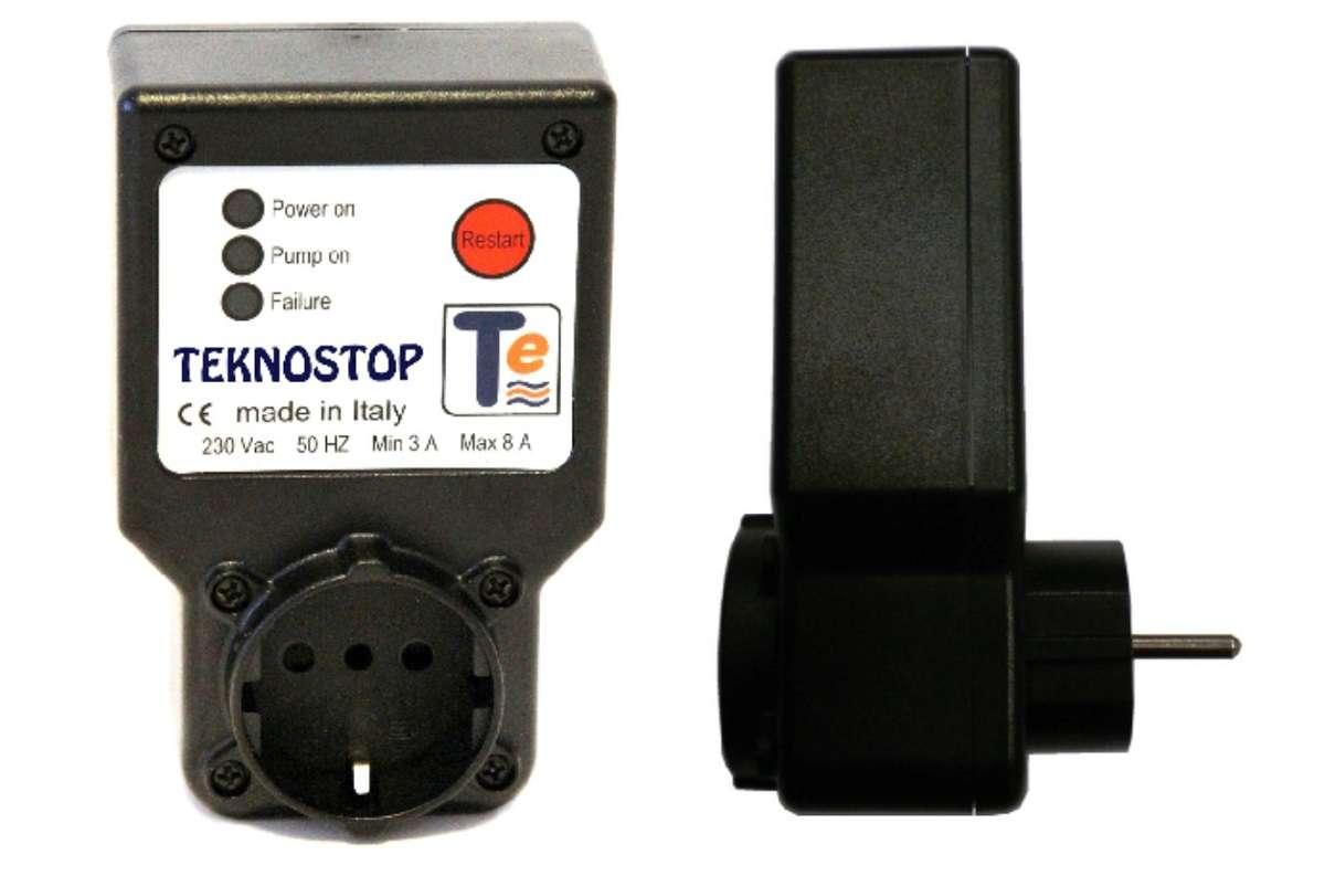 teknostop relais hydraulique s curit manque d 39 eau pompe 3 8 a ebay. Black Bedroom Furniture Sets. Home Design Ideas