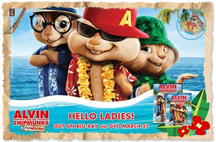 alvin and the chipmunks chipwrecked dvd review and giveaway tough